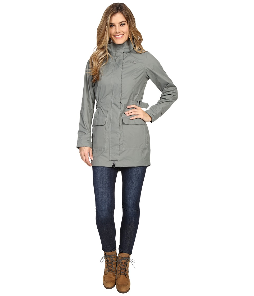 The North Face - Tomales Bay Jacket (Sedona Sage Grey) Women's Coat