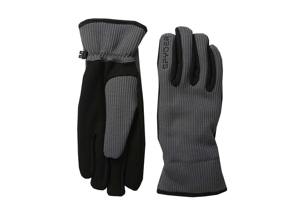 Spyder - Core Sweater Conduct Glove (Polar/Black) Ski Gloves