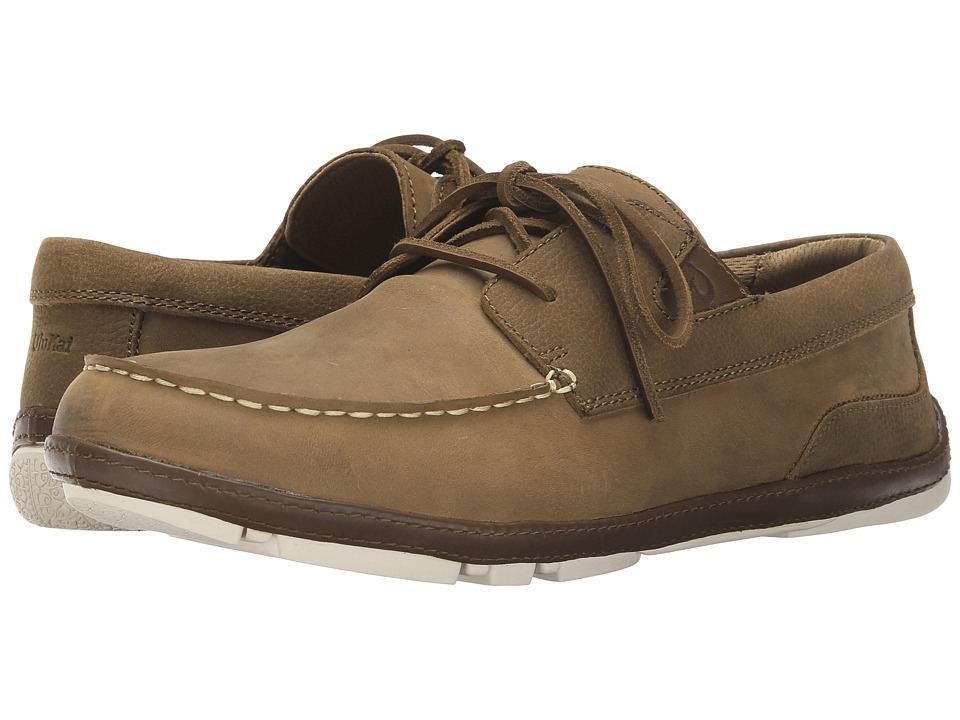 OluKai - Mano (Tan/Toffee) Men's Lace up casual Shoes