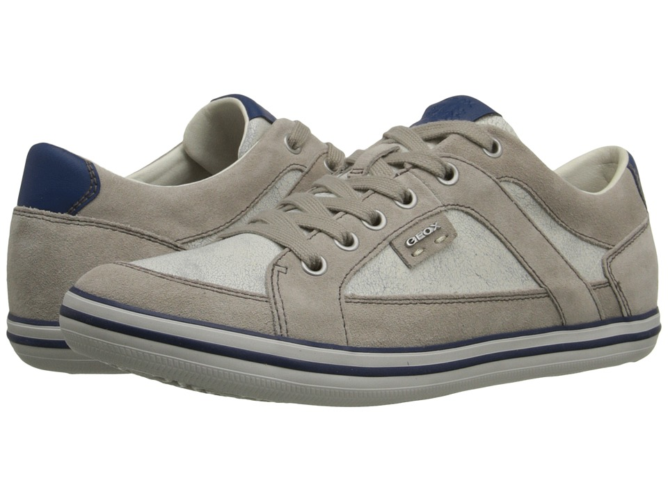 Geox - MBox19 (Shells/White) Men's Lace up casual Shoes