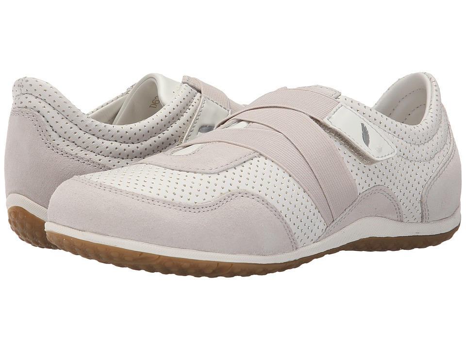 Geox - WVega19 (Off White/White) Women's Shoes