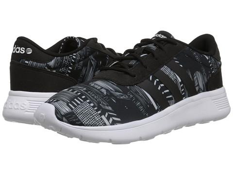 adidas - Lite Racer (Black/Black/White) Women