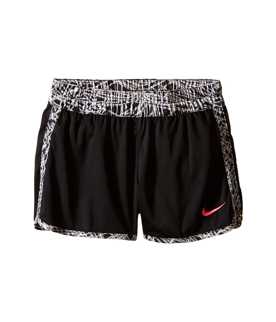 Nike Kids - Gym Reversible Short (Little Kid/Big Kids) (Black/Hyper Pink/Hyper Pink) Girl's Shorts
