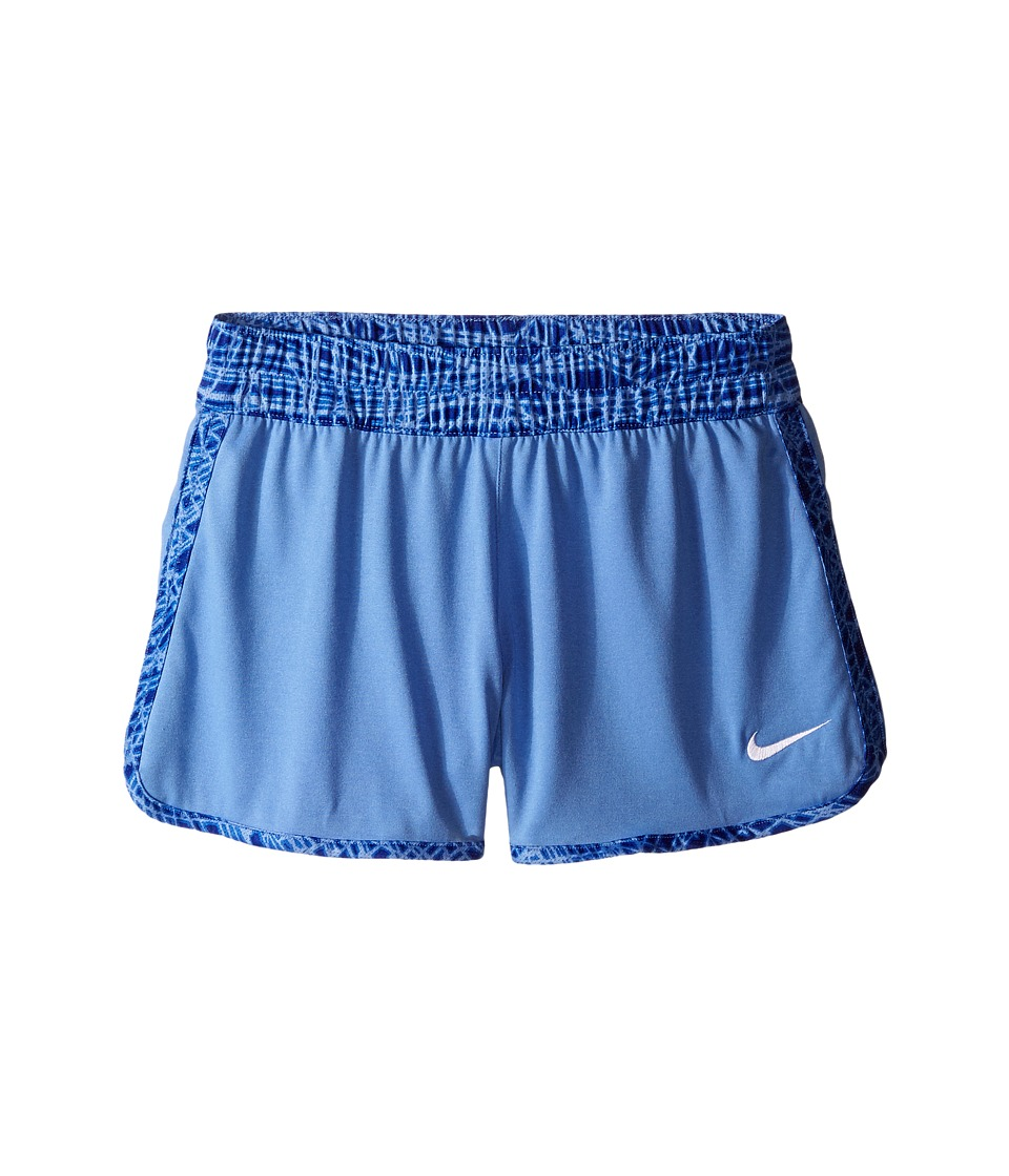 Nike Kids - Gym Reversible Short (Little Kid/Big Kids) (Chalk Blue/White/White) Girl's Shorts