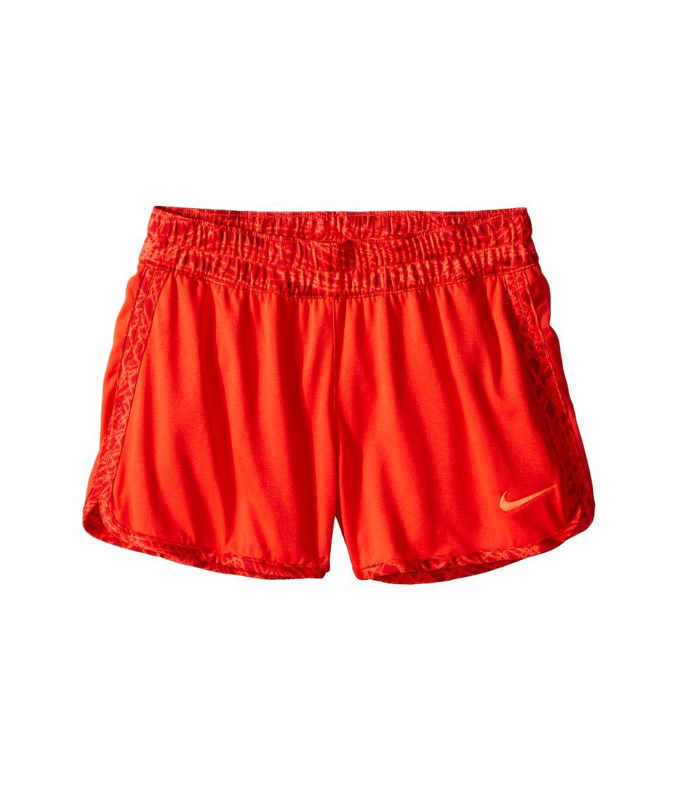 Nike Kids - Gym Reversible Short (Little Kid/Big Kids) (Light Crimson/Bright Crimson/Bright Crimson) Girl's Shorts