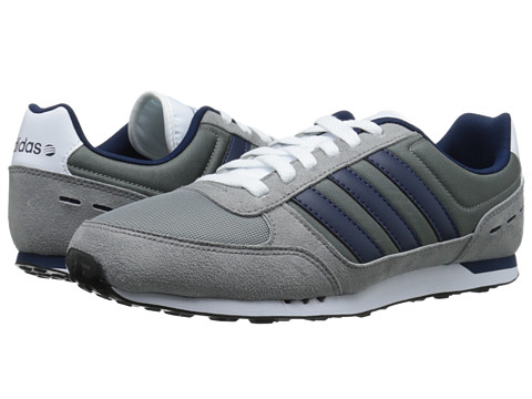 adidas - Neo City Racer (Grey/Navy/White) Men