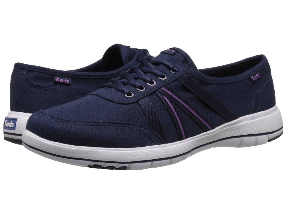 Keds - Fuse (Navy) Women's Lace up casual Shoes