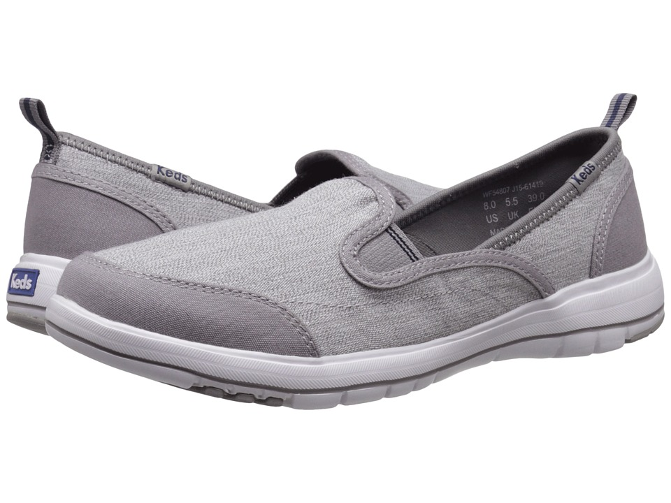 Keds - Brisk (Grey) Women's Slip on Shoes