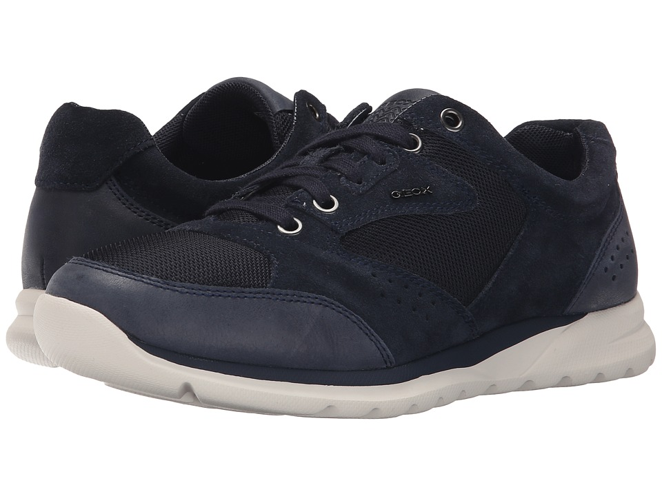 Geox - MDamian1 (Navy) Men's Lace up casual Shoes