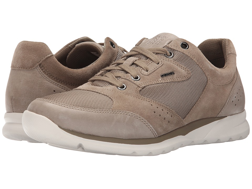 Geox - MDamian1 (Sand) Men's Lace up casual Shoes