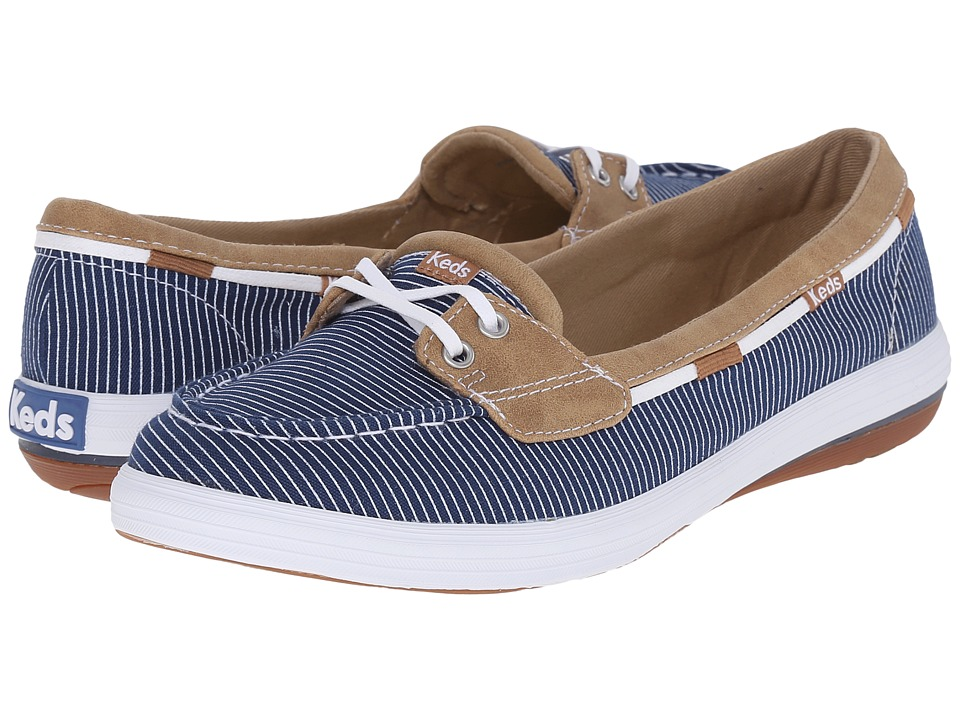 Keds - Glimmer (Navy) Women's Lace up casual Shoes