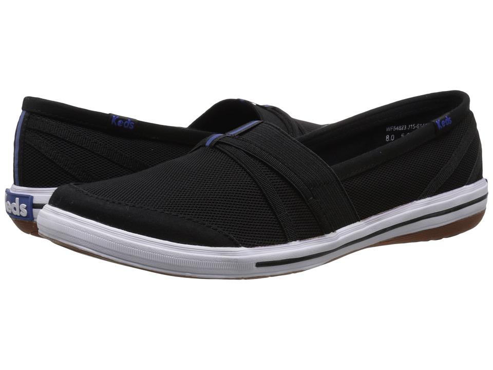 Keds - Summer (Black) Women's Slip on Shoes