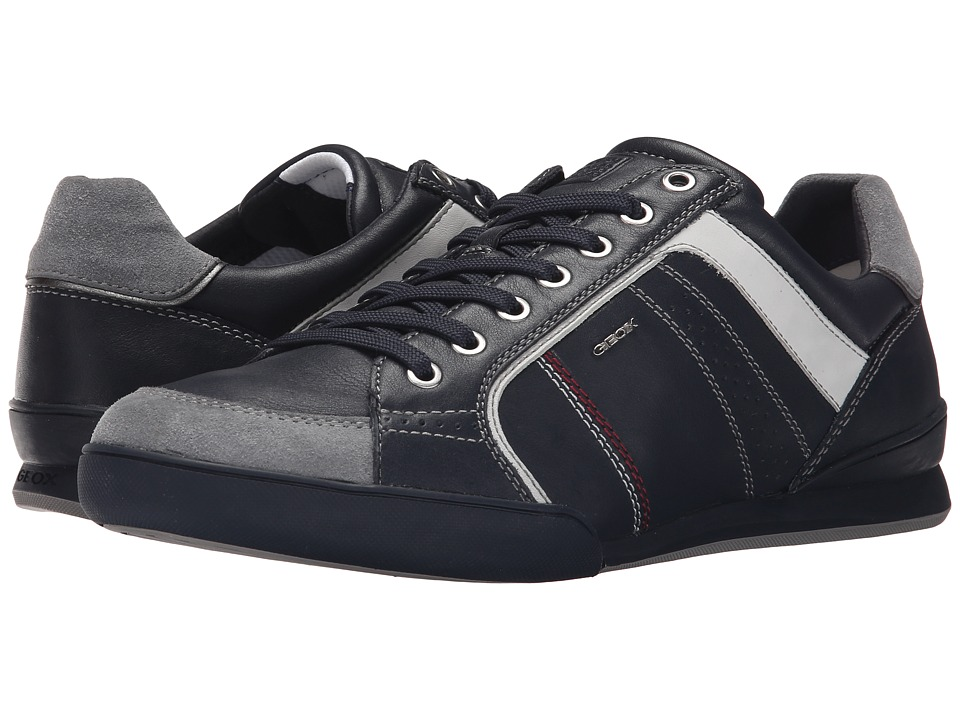 Geox - MKristof2 (Navy/Lake) Men's Lace up casual Shoes