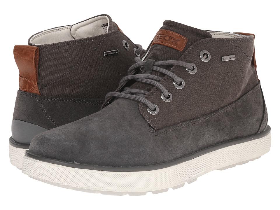 Geox - MMattiasbabx14 (Grey) Men's Lace up casual Shoes