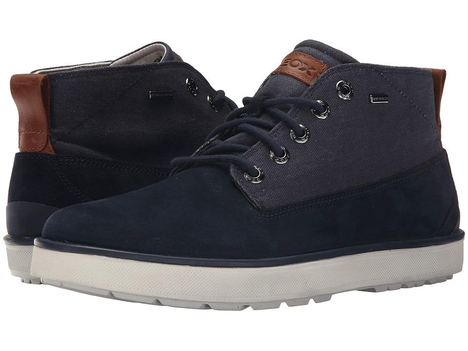 Geox - MMattiasbabx14 (Navy) Men's Lace up casual Shoes