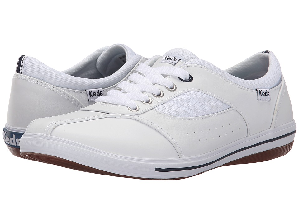 Keds - Prestige (White) Women's Lace up casual Shoes