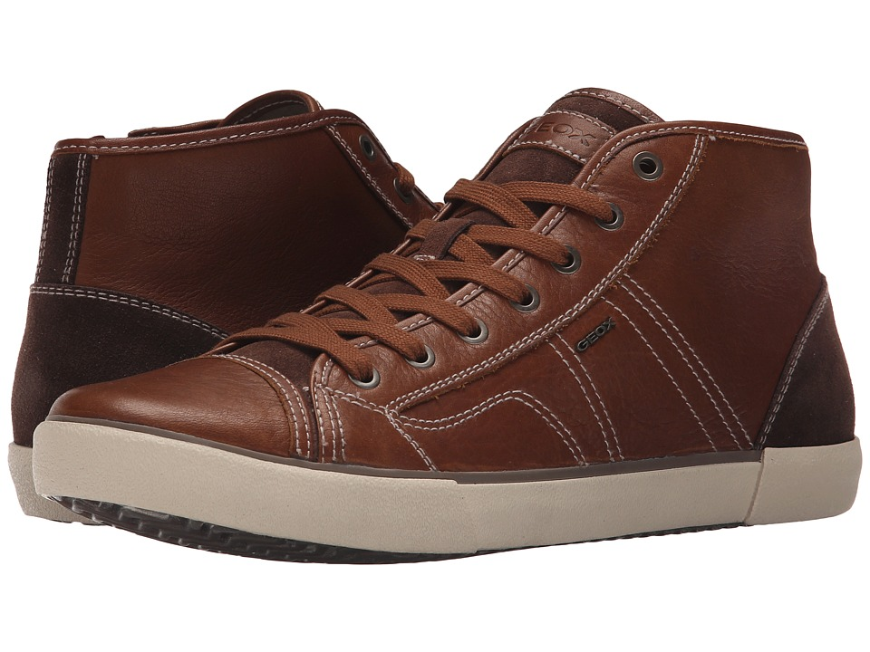 Geox - MSmart58 (Whisky) Men's Lace up casual Shoes