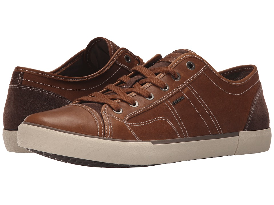 Geox - MSmart59 (Whisky) Men's Lace up casual Shoes