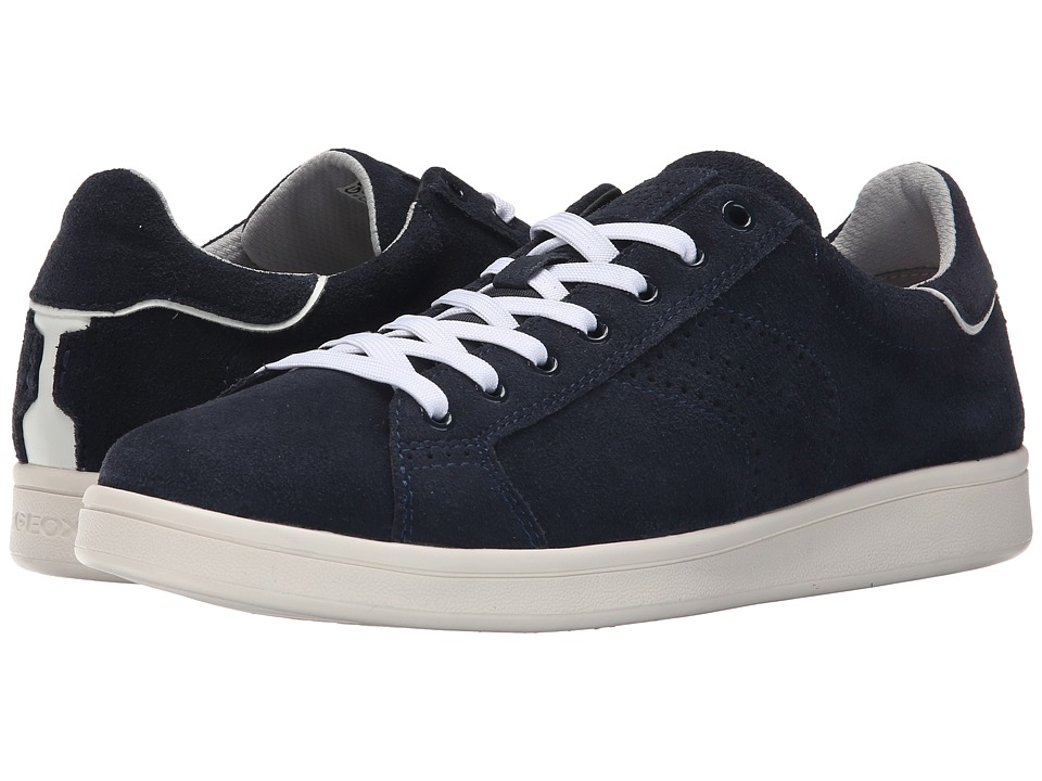 Geox - MWarrens1 (Navy) Men's Lace up casual Shoes