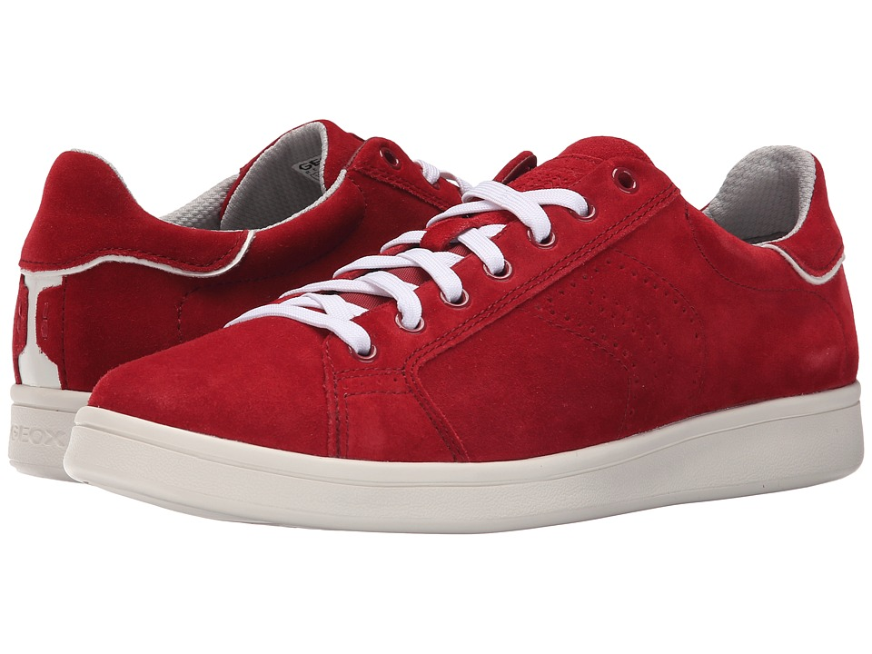 Geox - MWarrens1 (Red) Men's Lace up casual Shoes