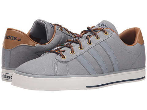 adidas - Daily (Grey/Grey/Timber) Men's Shoes