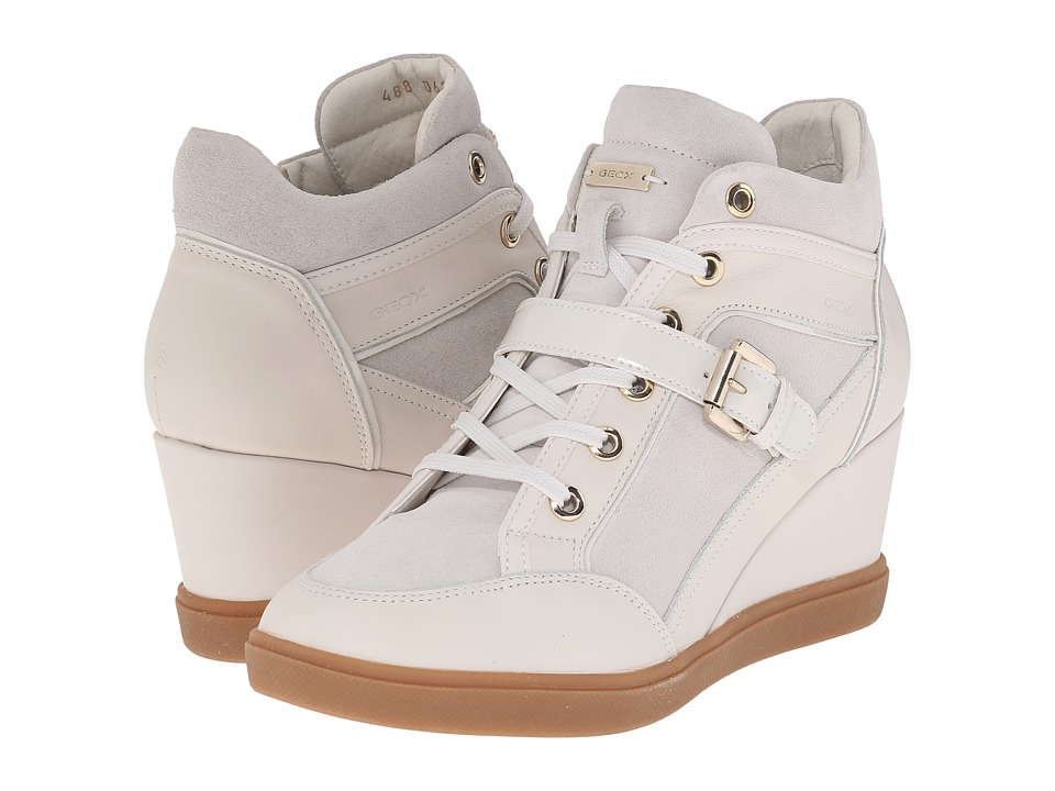 Geox - WEleni23 (Off White) Women's Shoes