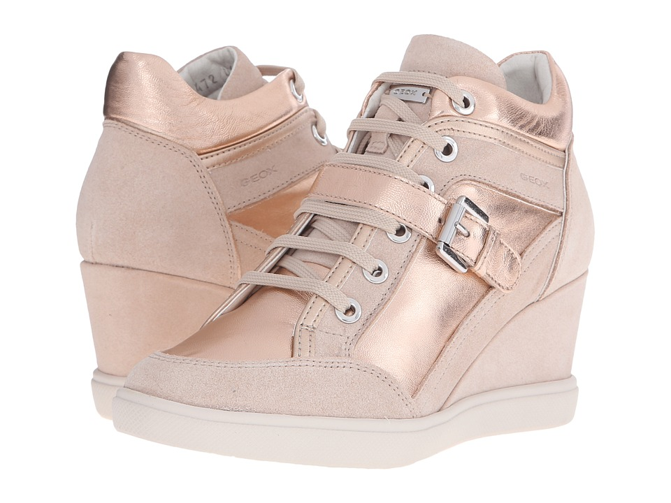 Geox - WEleni22 (Rose Gold/Skin) Women's Shoes