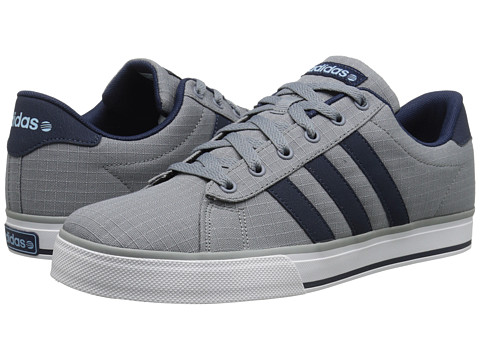 adidas - SE Daily Vulc (Grey/Indigo/Blue) Shoes