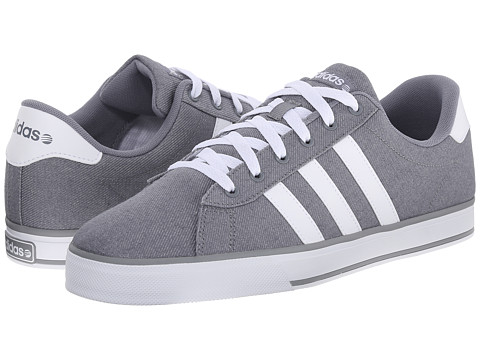 adidas - SE Daily Vulc (Grey/White/Grey) Shoes