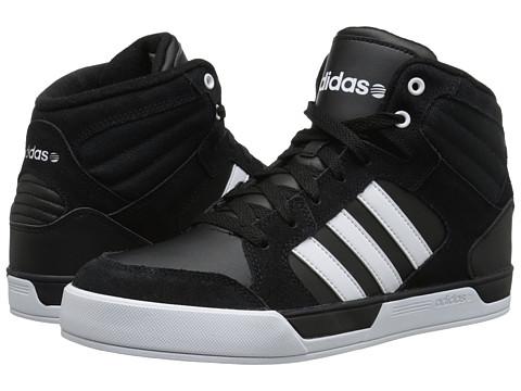 adidas - BBNEO Raleigh (Black/White/White) Men