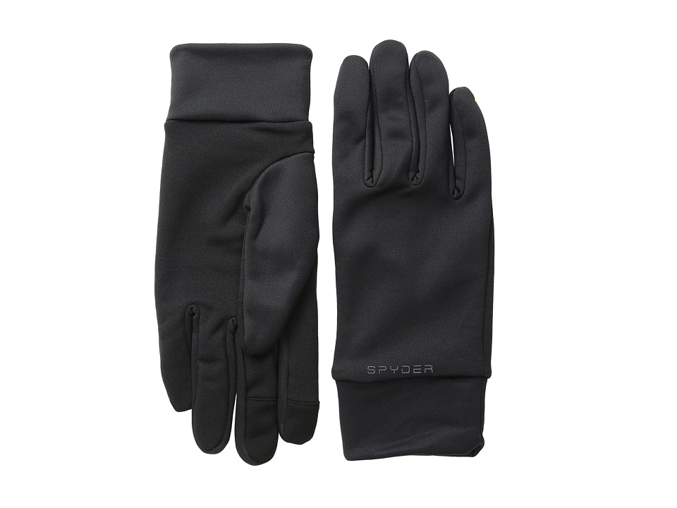 Spyder - T-Hot Conduct Liner Glove (Black/Polar) Ski Gloves