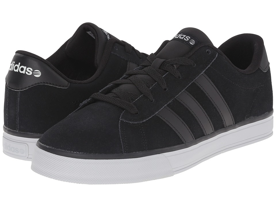 adidas - Daily (Black/Black/Grey) Men's Shoes