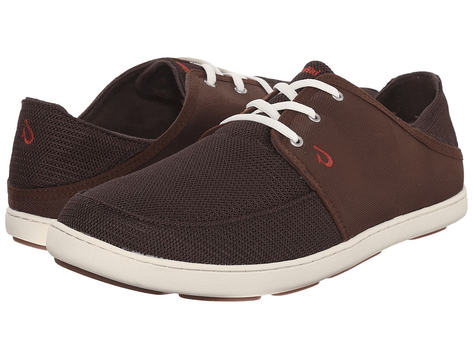 OluKai Nohea Lace Mesh (Dark Java/Dark Java) Men