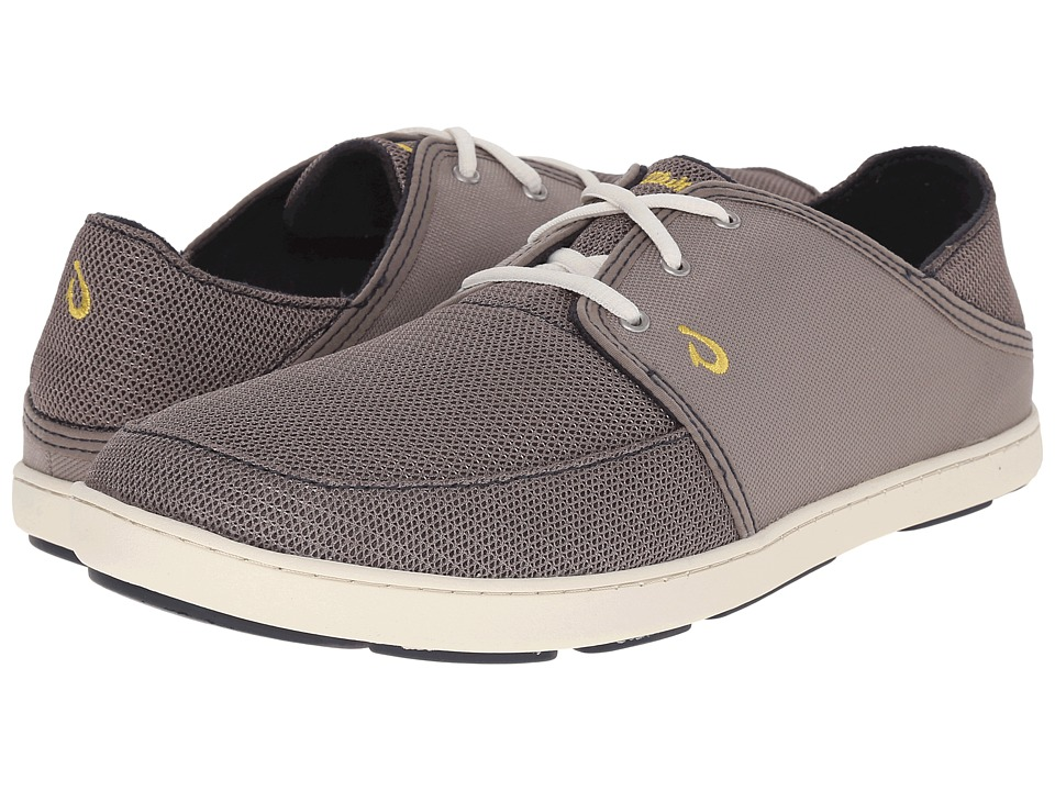 OluKai Nohea Lace Mesh (Rock/Rock) Men
