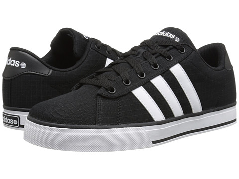 adidas - SE Daily Vulc (Black/White/Black) Shoes