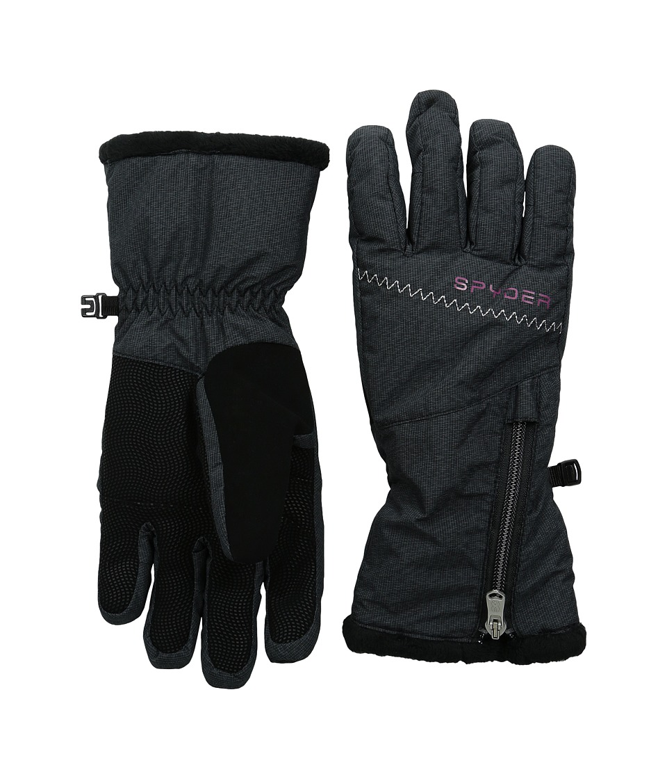 Spyder - Collection Ski Glove (Black Zig-Zag/Wild) Ski Gloves