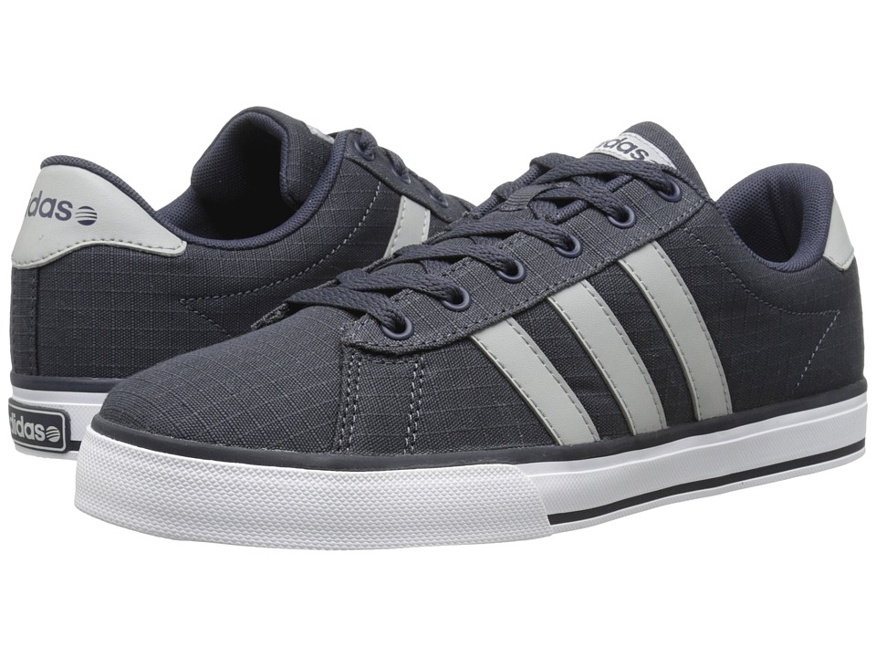 adidas - SE Daily Vulc (Navy/Light Onix/White) Shoes