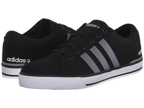 adidas - BBNEO Skool Lo (Black/Grey/White) Men