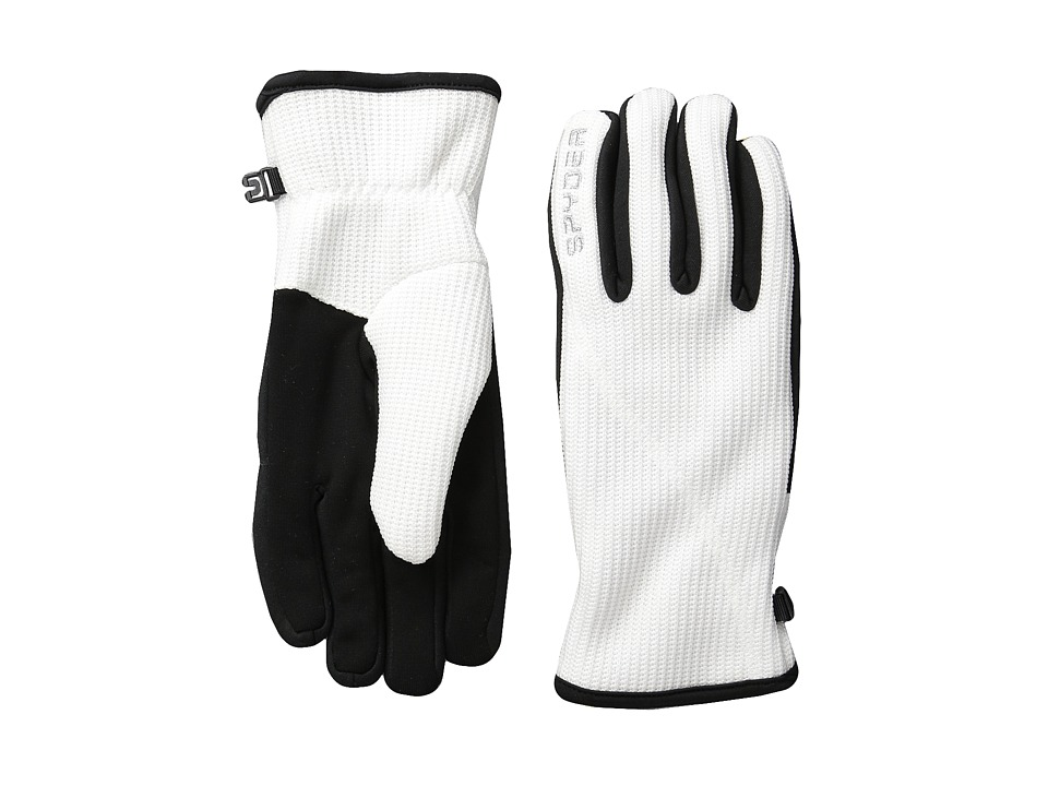 Spyder - Core Sweater Conduct Glove (White) Ski Gloves