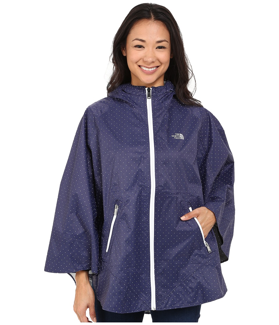 The North Face Mindfully Designed Poncho (Patriot Blue Classic Dot) Women