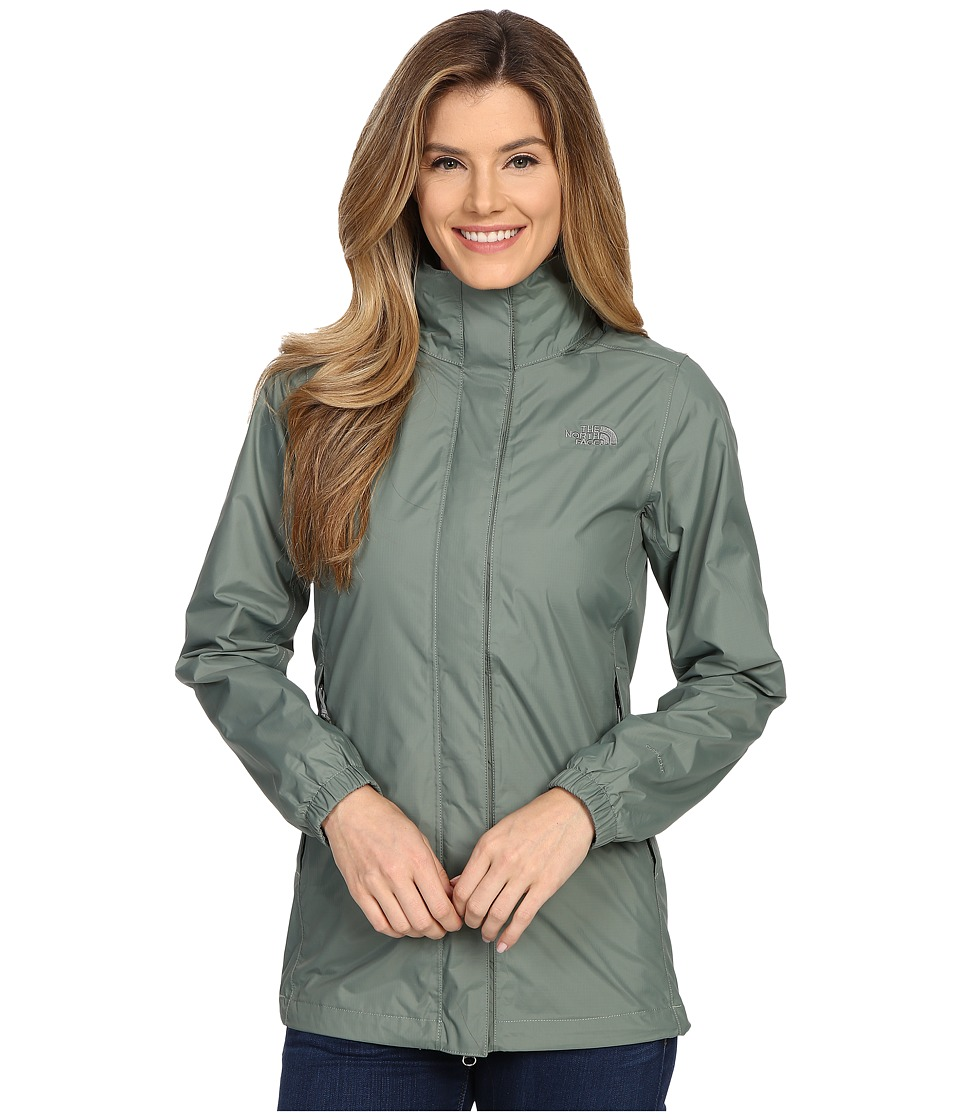 The North Face - Resolve Parka (Laurel Wreath Green) Women's Coat