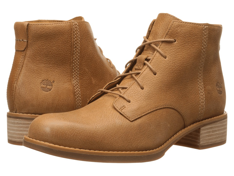Timberland - Beckwith Lace Chukka (Tan) Women's 1-2 inch heel Shoes