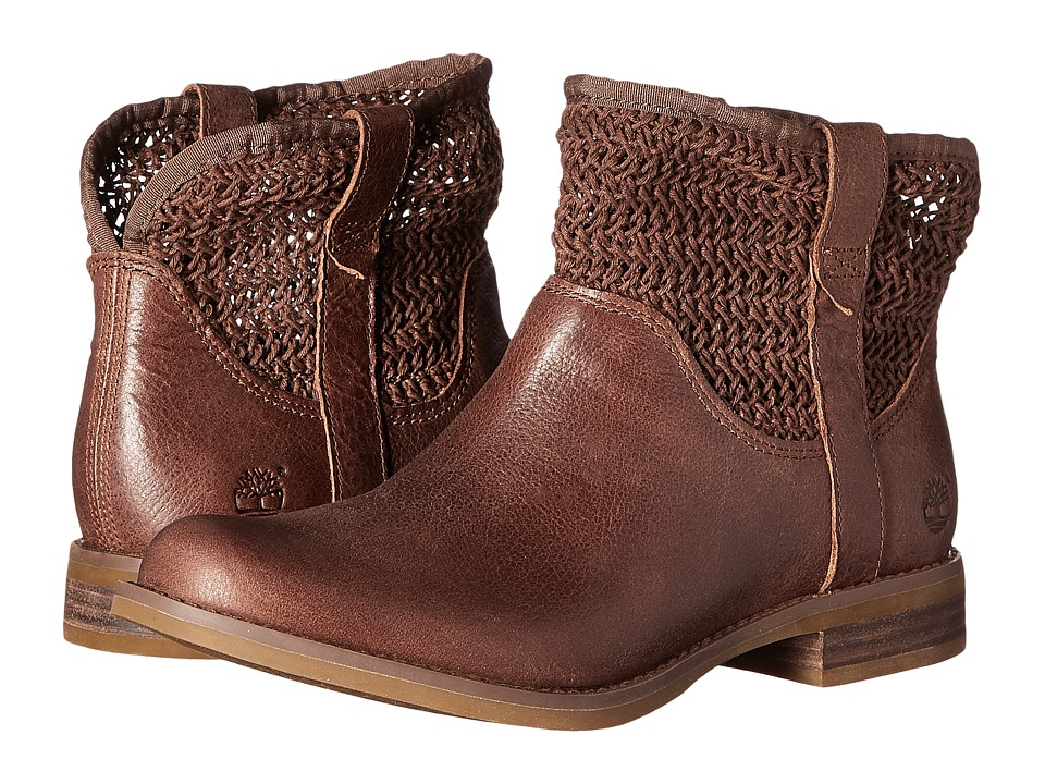 Timberland - Savin Hill Ankle Boot (Dark Brown) Women