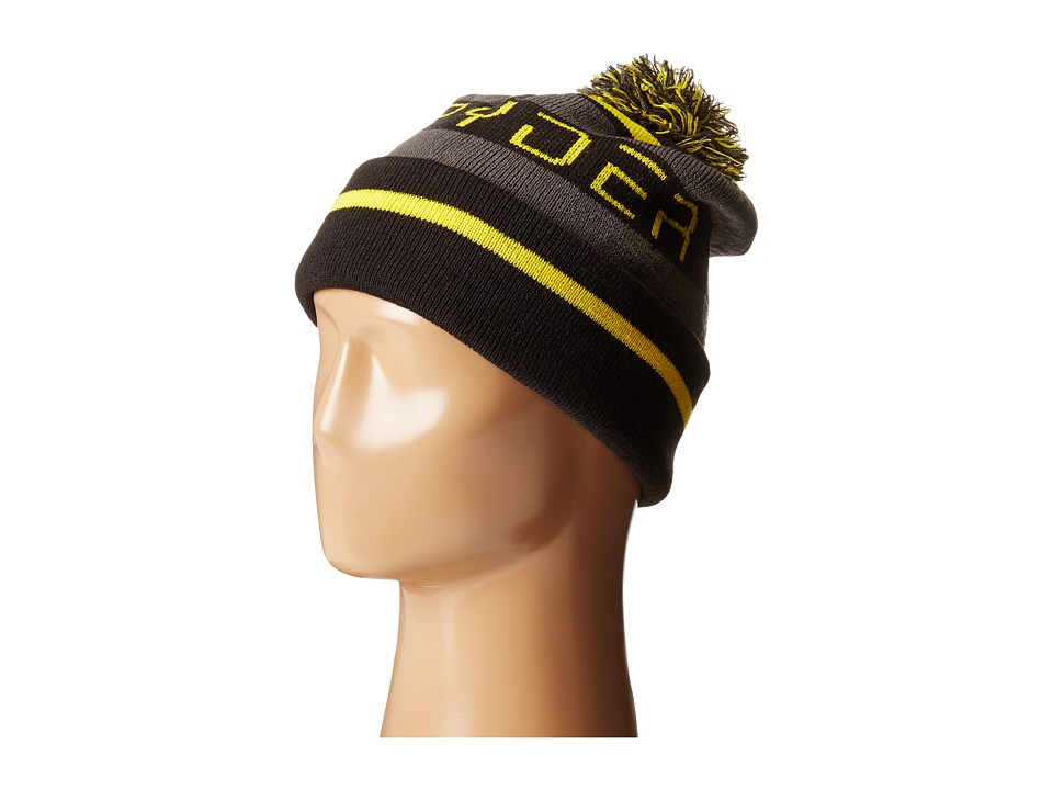 Spyder - Icebox Hat (Black/Sun/Polar) Beanies