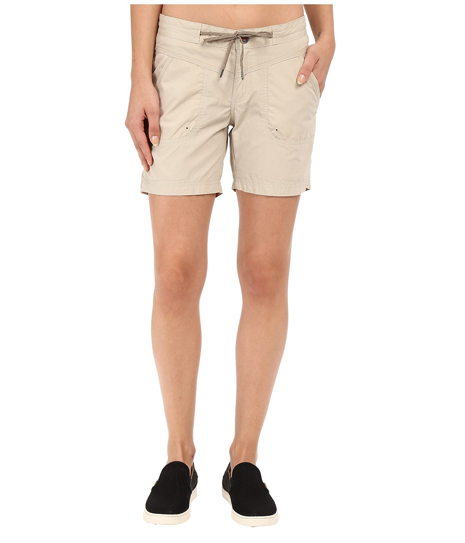 Columbia - Down the Path Shorts (Fossil) Women's Shorts