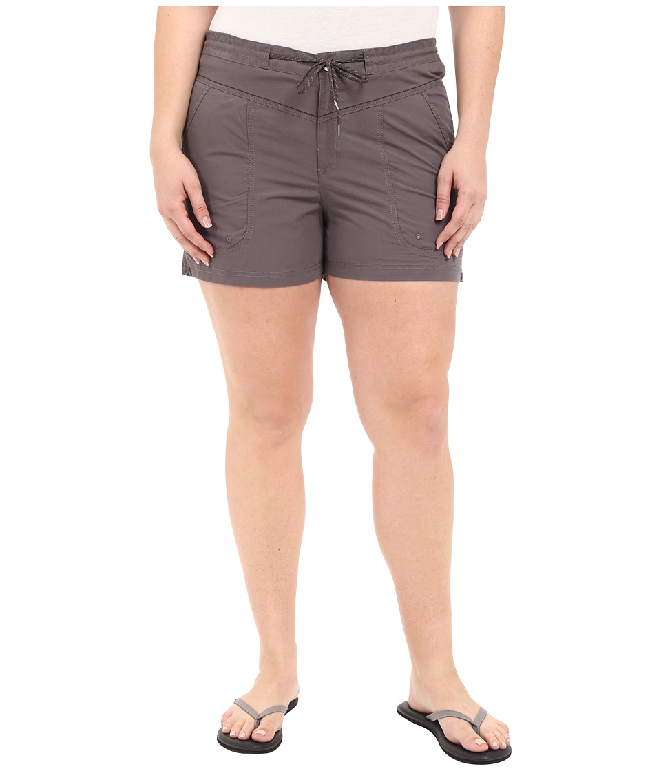 Columbia - Plus Size Down the Path Shorts (Pulse) Women's Shorts