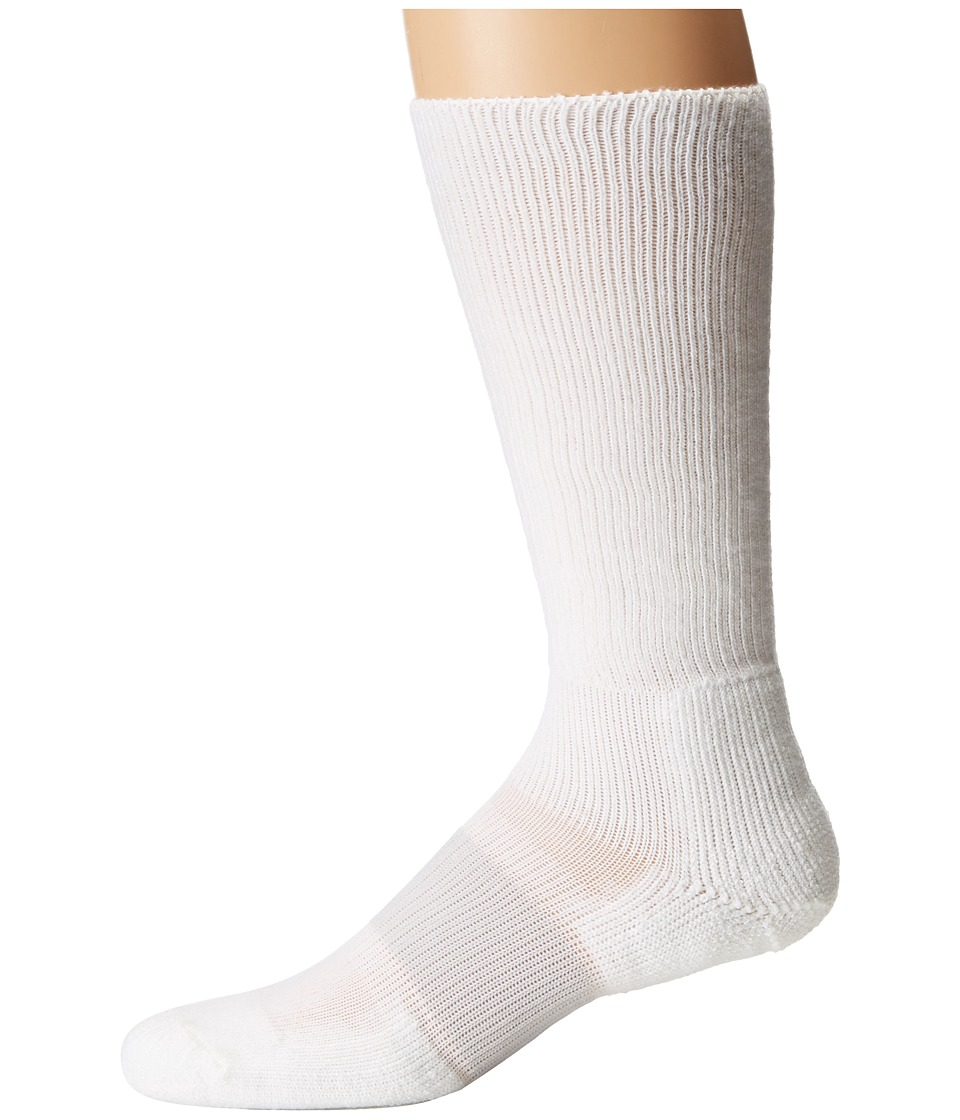Thorlos - Cleated Sports Over Calf Single Pair (Varsity White) Crew Cut Socks Shoes
