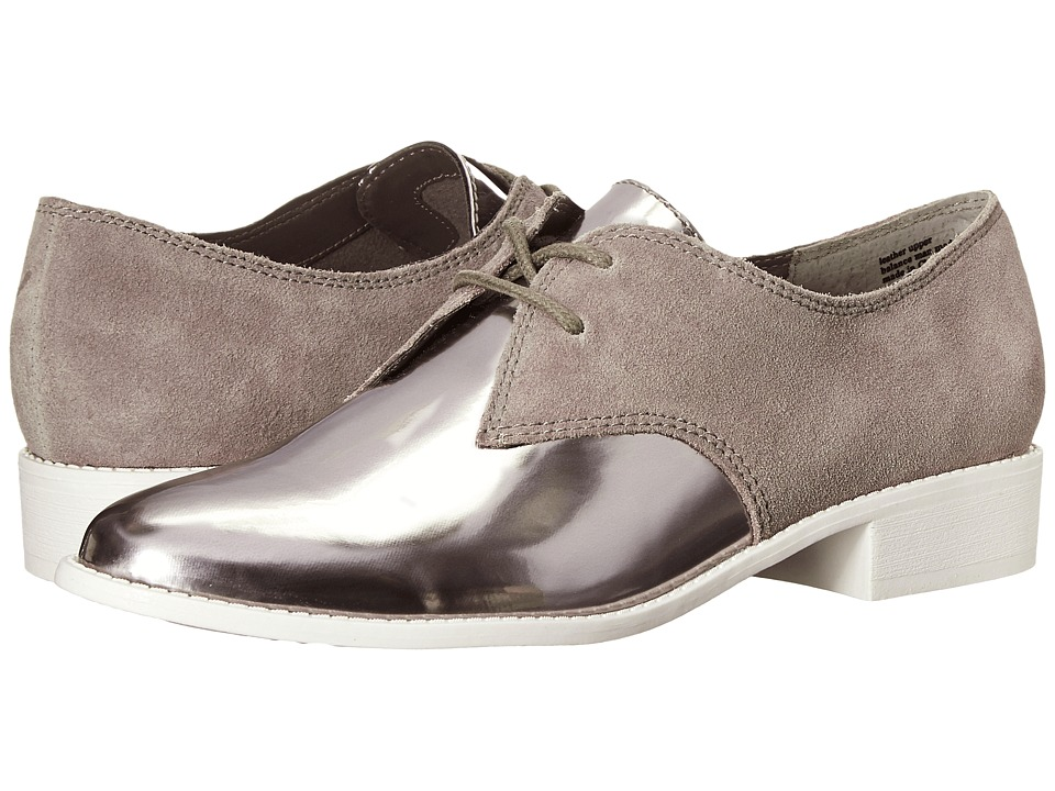 Seychelles - With Honor (Pewter Mirror/Taupe) Women's Slip on Shoes