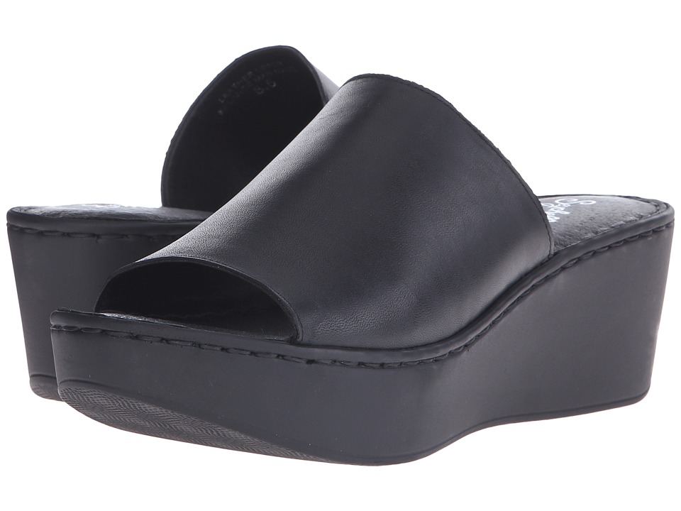 Seychelles - Shortcut (Black) Women's Wedge Shoes
