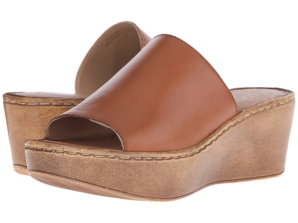 Seychelles - Shortcut (Whiskey) Women's Wedge Shoes